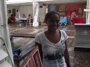 [cml_media_alt id='585']Emmanuelle, membre du staff du Biguine Jazz festival[/cml_media_alt]