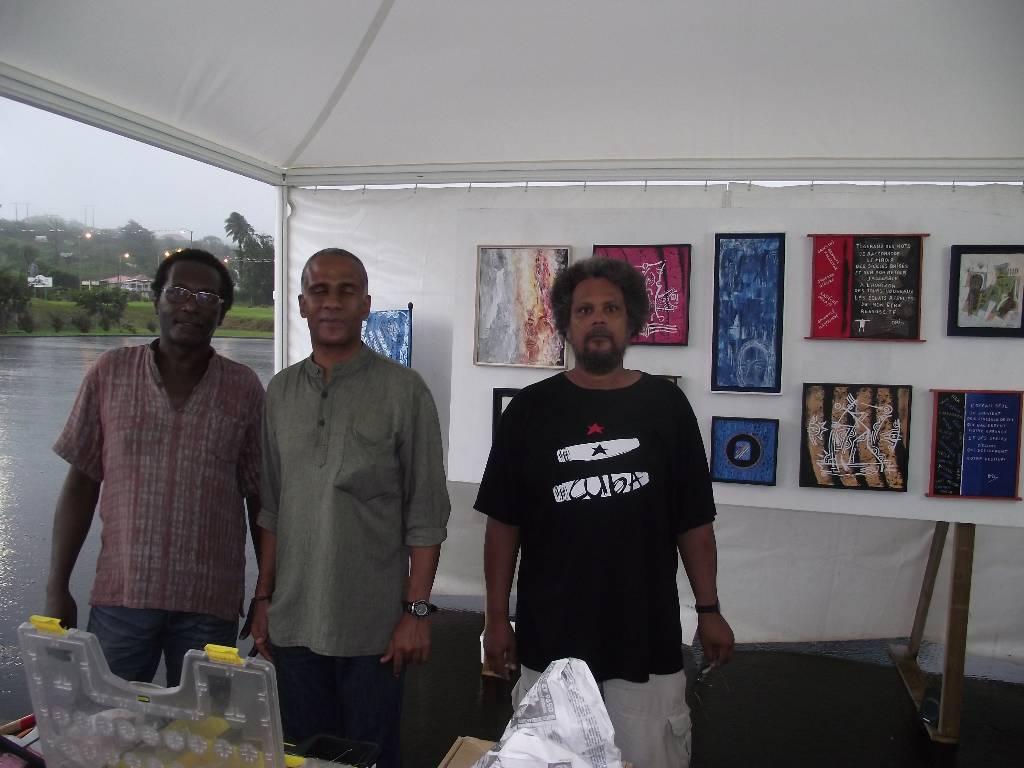 Alex, Jean-Yves et Henry