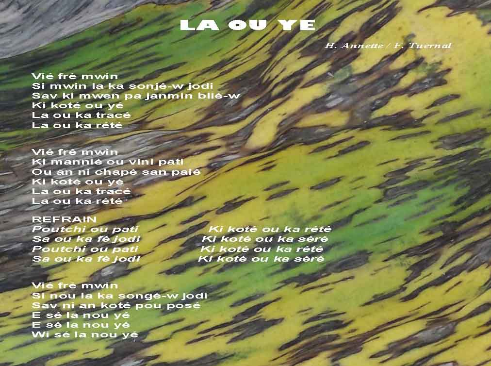 [cml_media_alt id='1023']LA OU YE song[/cml_media_alt]