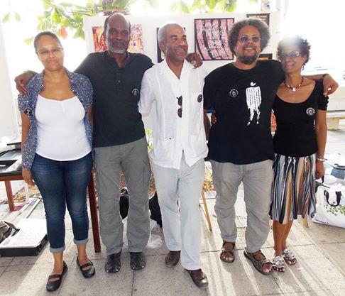L'équipe d'ANBABWA à Saint Anne le 22 mai