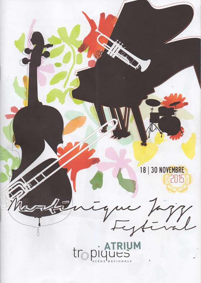 Affiche du Martinique jazz festival