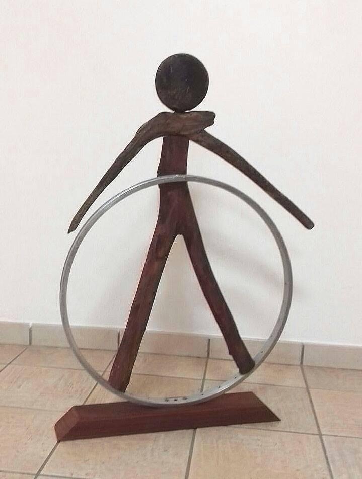 L'enfant au cerceau_SculptureMaryse