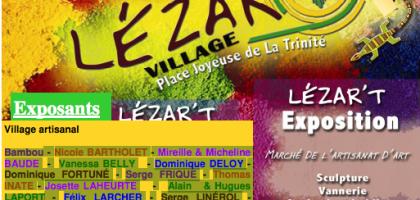 Marché de l'artisanat d'aert de Trinité_Lézart