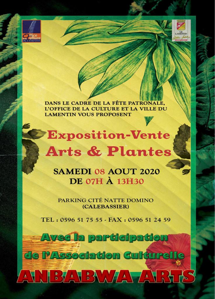 Affiche Arts et Plantes 2