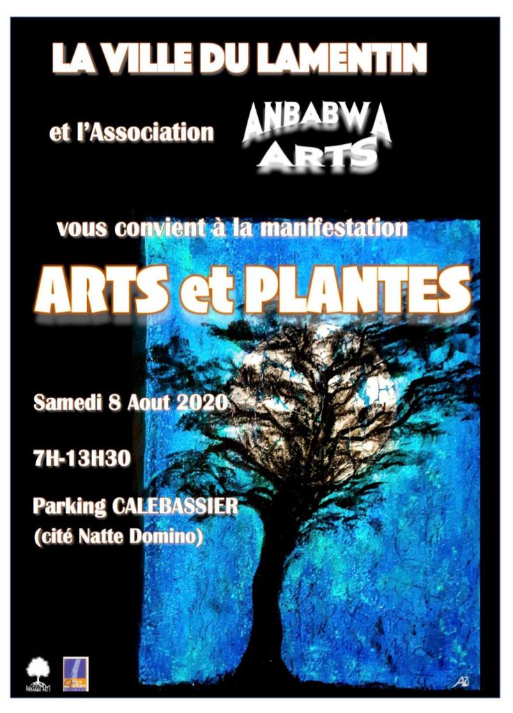 Affiche Lamentin Plantes