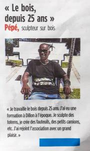 article Pépé