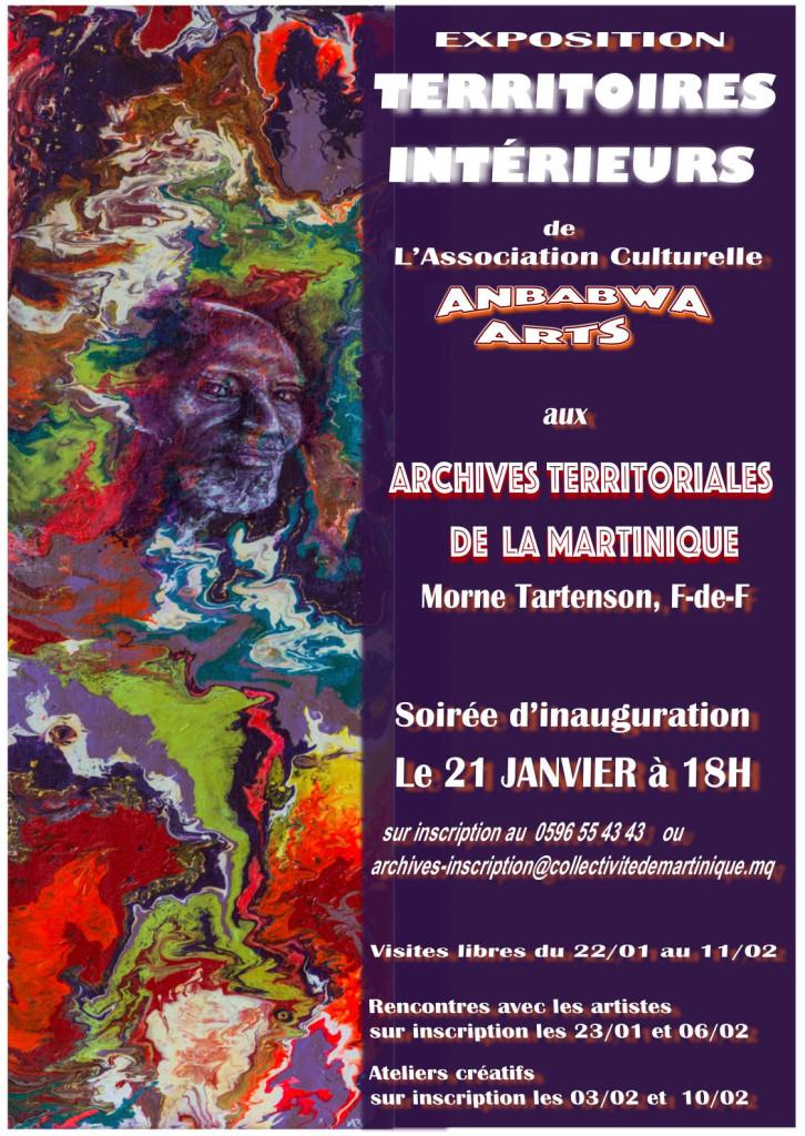 Territoires archives affiche